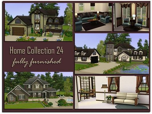 Sims 3 house, build, residential, lot