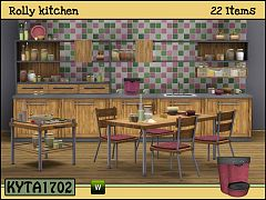 Sims 3 kitchen, furniture, decor, objects