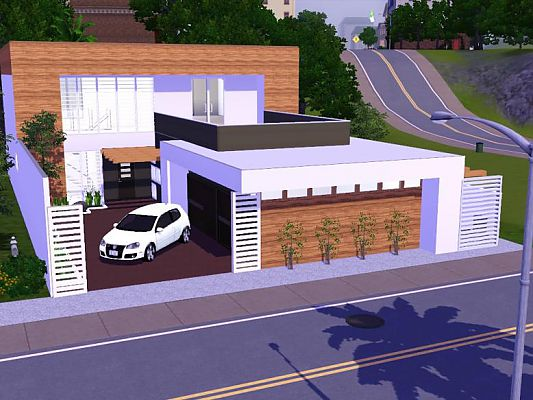 Sims 3 Updates Sims 3 Modern Houses Bahia House available at