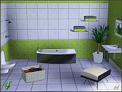 Sims 3 furniture, objects, bathroom, chair