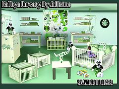 Sims 3 nursery, furniture, objects