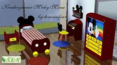 Sims 3 kids, room, furniture, objects