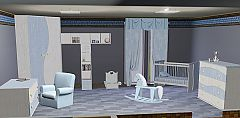 Sims 3 cot, pot,  chest, book, chair, bunny, curtains, horse, wardrobe, shelf, decor, dining table, furnitu