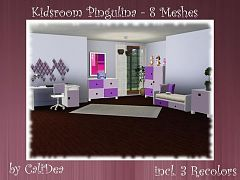 Sims 3 kids, room, furnirure, objects