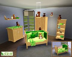 Sims 3 kidsroom, furniture, objects, decor