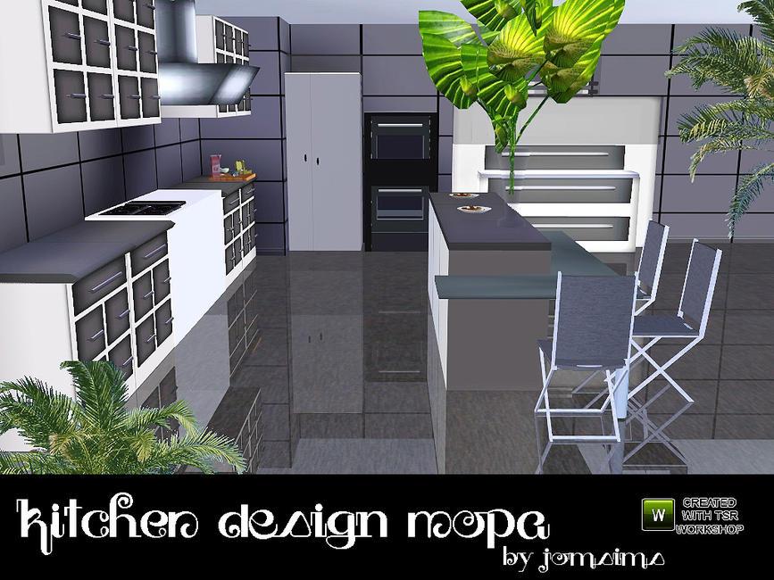 "Кухня ""nopa"" для симс 3 в формате sims3pack "" the sims - всё."