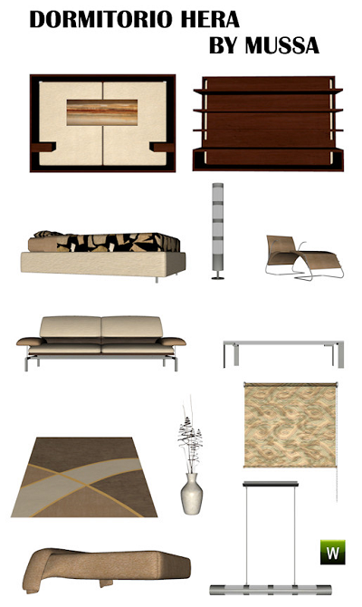 Bedroom Furniture on Sims 3 Updates   Downloads   Objects   Buy   Bedroom   Page 19