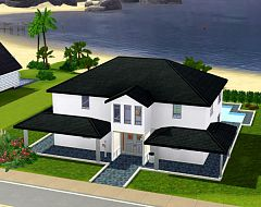 Sims 3 house, residencial, lot, family