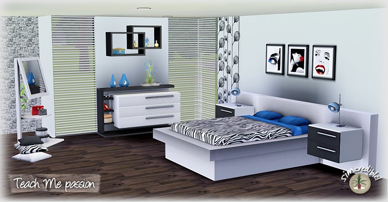 Sims 3 bedroom designs images for Sims 4 bedroom ideas