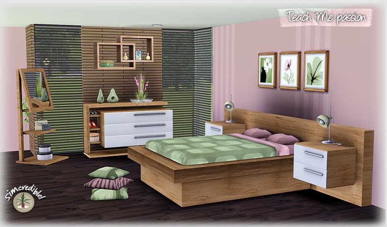 Sims 3 Updates - Simcredible Designs: New bedroom set at ...