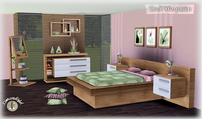 Sims 3 bedroom designs images for Sim interior designs