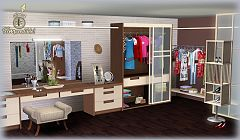 Sims 3 closet, furniture, objects, decorative