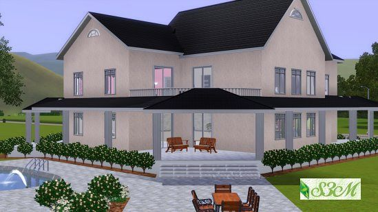 Sims 3 lot, house, residential, building
