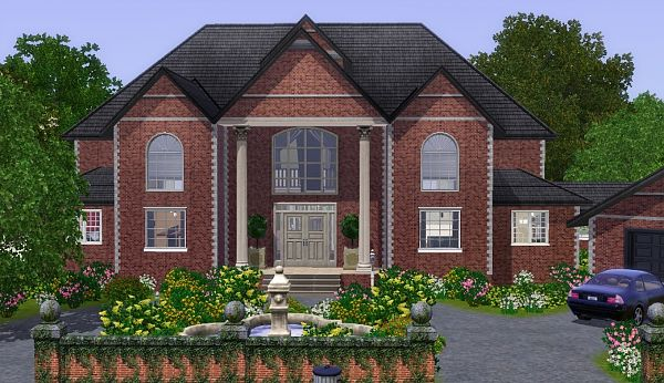 Sims 3 house, lot, residential, building