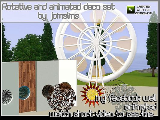 Sims 3 decor, object