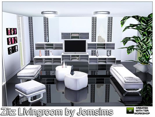 Sims 3 livingroom, furniture, objects, decor