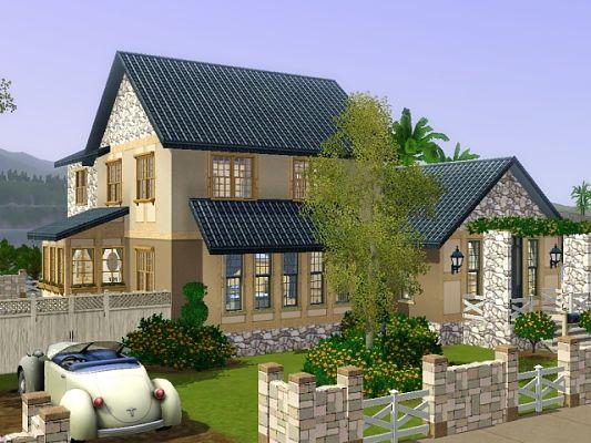Sims 3 Updates - Sims Crossing: 477 Sunnyside Blvd  - Sunset