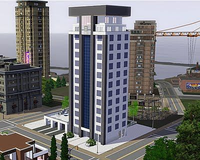 Sims 3 Apartment Building Residential
