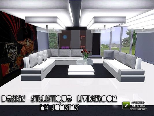 Sims 3 Livingroom, Furniture, Objects, Decor Part 33