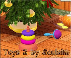 Sims 3 toys, children, kids