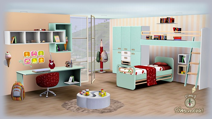 Sims 3 Updates Simcredible Designs Little Wonders Kids Room At