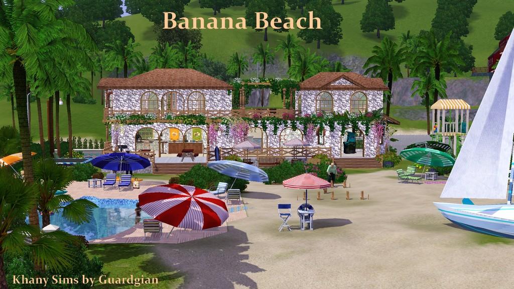 Пляжный Участок Для Симс 2